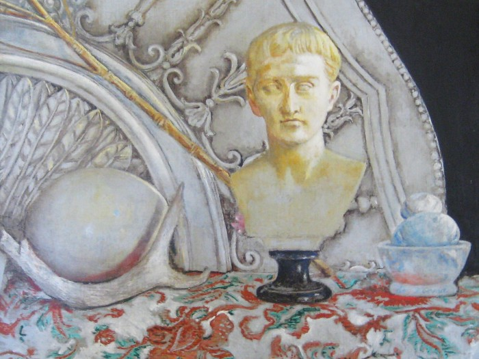 augustus with horn