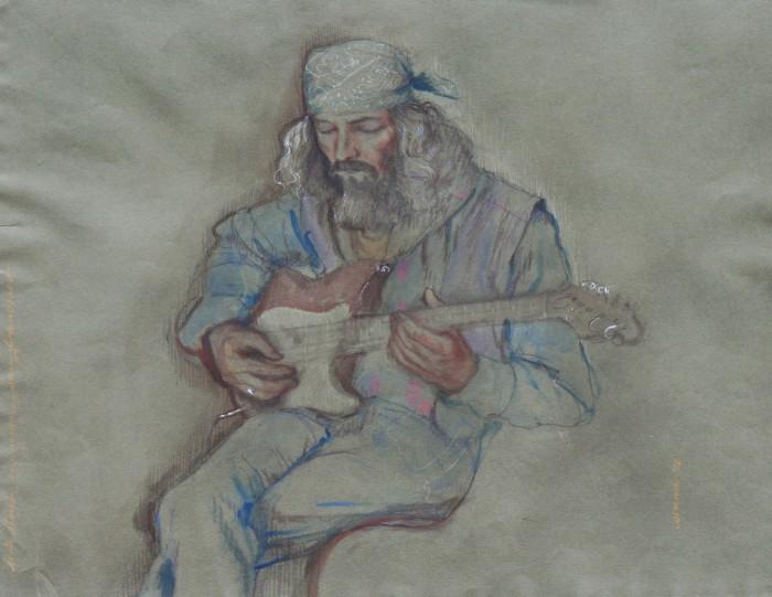 bert - street musician