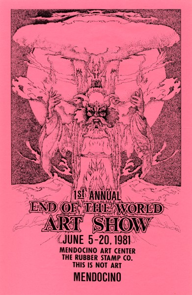 end of the world art show