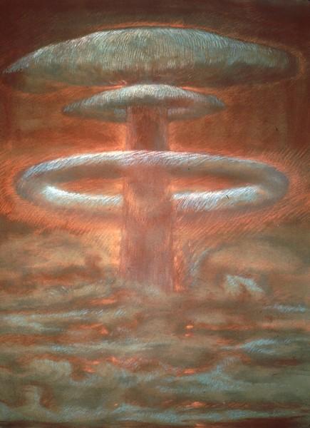 mushroom drawing IV