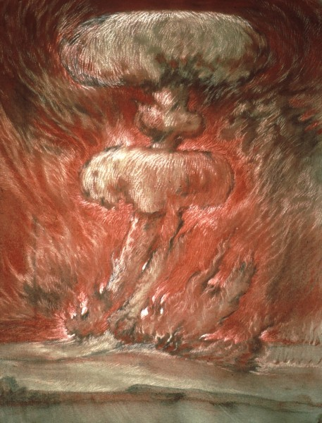 mushroom drawing II